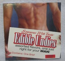 Edible Undies Male Brief Cotton Candy Tasty Intimates Sexy Romantic Gift 1 Brief