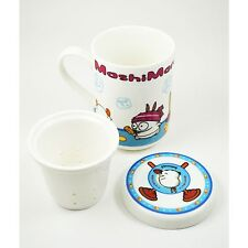 MashiMaro TEA CUP w/ LID and Tea Strainer Kim Jae In Rabbit Insert MUG Character