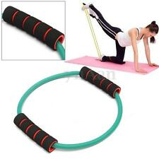 ABS Latex Resistance Yoga Gym Pilates Fitness Workout Band Stretch Exercise Tube