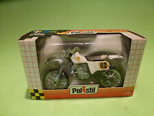 POLISTIL GT669  CROSS MOTOR CYCLE  - 1:24 - VERY GOOD CONDITION - IN BOX  1983