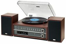 TEAC MC-D800 10watts/ch.Turntable System AM/FM/CD/Bluetooth Cherry MCD800