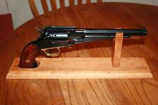 "16"" Solid Cherry Wood Cap & Ball. SAA or DA  Revolver Pistol Display Gun Stand"