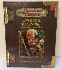 Dungeons and Dragons 3.5 Supplement - Complete Scoundrel - Wizards d20 Hardcover