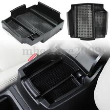 Black Car Auto Armrest Central Glove Storage Box Holder For Honda CRV 12-16 ABS
