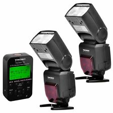 2 x Yongnuo YN-685 Wireless Flash Speedlite + YN 622C-TX Flash for Canon 600D 7D