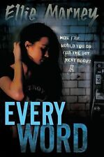 New Every Ser.: Every Word by Ellie Marney (2015, Hardcover) ARC PAPERBACK
