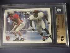 BRIAN URLACHER/C MOORE 2000 SkyBox Dominion #242 BGS GEM MINT 9.5 RC Bears