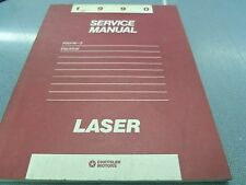 Chrysler Motors 1990 Plymouth Laser Service Manual Volume 2 Electrical