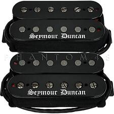 Seymour Duncan Black Winter Neck/Bridge Humbucker Set Metal Guitar Pickups NEW