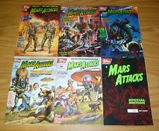 Mars Attacks #1-5 VF/NM complete series + special edition variant 1994 TOPPS SET
