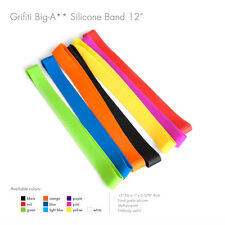 "Grifiti Big-Ass Bands 12"" 10 Pack Tough Silicone Replace Rubber or Elastic Bands"