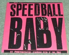 "SPEEDBALL BABY  7"" 45RPM EP S/T 4 SONG EP ROCK PUNK GARAGE PCP MATADOR"