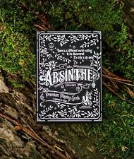 Bicycle Ellusionist ABSINTHE V2 Green Fairy Deck Playing Cards Magic Poker New