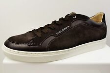 DOLCE & GABBANA SUEDE MENS TRAINERS BRAND NEW SIZE UK 8 (N1)