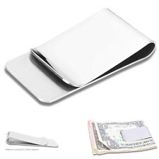 Money Clip Credit Card Wallet Holder Gold Silver Stainless Steel Slim ClipsG1332