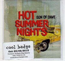 (EF110) Son of Dave, Hot Summer Nights - 2013 DJ CD