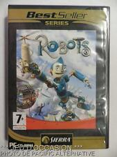 Jeu ROBOTS pour PC francais sierra game best seller series Rodney Copperbottom