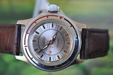 MEN'S VERY BIG VINTAGE MECHANICAL RUSSIAN VOSTOK AMPHIBIA WATCH 17 JEWELS!