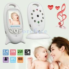 Wireless Digital Video Camera Baby Monitor 2 Inch LCD Audio Night Vision 2.4 GHZ