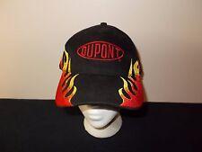 Dupont Racing Flames Stripes NASCAR strapback hat sku7