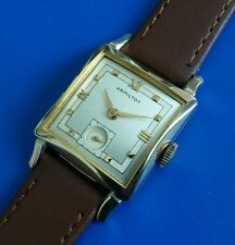 Exquisite Vintage1952 Mans Hamilton*RYAN B* Hand Winding 2 Tone Dial SERVICED!