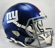 NEW YORK GIANTS - Riddell Full Size SPEED Replica Helmet