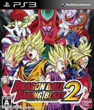 Used PS3 Dragon Ball: Raging Blast 2 SONY PLAYSTATION 3 JAPAN JAPANESE IMPORT