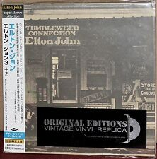 JAPAN Made CD UICY-9102: ELTON JOHN - Tumbleweed Connection, OBI 2001 OOP SEALED