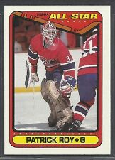 1990-91 Topps Hockey - #198 - Patrick Roy - Montreal Canadiens
