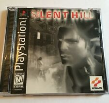 Silent Hill (Sony PlayStation 1, 1999) Black Label. Complete