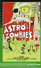 Astro Zombies DVD Large Hardbox Motion Picture Ted V Mikels Tura Satana LTD 99