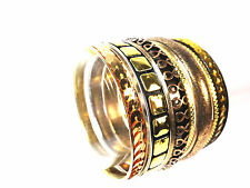 ELEGANT  EGYPTIAN THEME SET OF BANGLES BRAND NEW UNIQUE STATEMENT (KR)