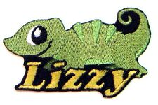 Iron-on Lizard Patch With Name Personalized Free