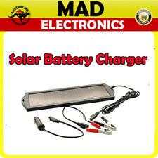12V Solar Battery Battery Charger Panel Maintainer Car Auto Boat