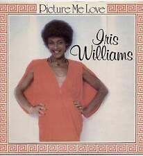 IRIS WILLIAMS ~ PICTURE ME LOVE ~ 1980 UK 13-TRACK LP RECORD ~ COLUMBIA SCX 6633