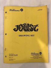 Williams Joust Arcade Drawing Set