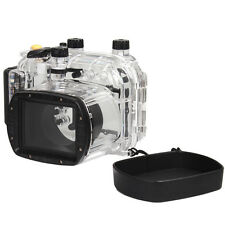 MeiKon WP-DC34 40M Underwater Waterproof Housing Case Fr Canon PowerShot G11 G12