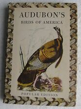"1950 Bird Book: ""Audubon's Birds of America"", 320-page HC Book with Dust Jacket"