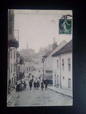 K483. CPA. MONTBARD. RUE DE LA COTE D'OR, COTE DE LA VILLE 1907. RECTO VERSO
