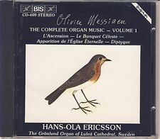 Olivier Messiaen - Hans-Ola Ericsson: Complete Organ Music Vol. 1 (BIS) Like New