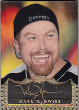 2015 UPPER DECK MASTER COLLECTION MARK McGWIRE 1/1 AUTO MASTERFUL PAINTINGS #MM
