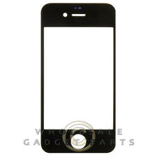 Lens Glass Only for Apple iPhone 4 4S CDMA GSM Black Glass Cover Protective Part