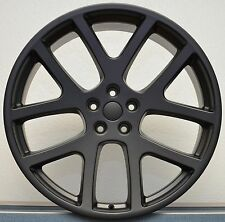 "(4) 20"" Viper Wheels Satin Black Fits All Challenger 300C Charger Magnum RWD"
