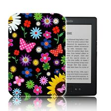 "'floral papillons's e-reader case pour 6"" Amazon KINDLE 4 & 5 housse en néoprène uk"