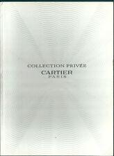 Catalogue de montres Cartier 2002 Watch Horlogerie luxe