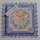 PK 2 FAIRY BIRTHDAY GIRL EMBELLISHMENT TOPPERS FOR CARDS AND CRAFTS