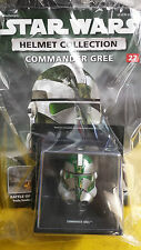 STAR WARS =HELMET COLLECTION,=COMMANDER  GREE,  NO. 27