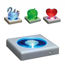 Crystal Effect Puzzle Party LED Colourful Object Display Projection Light Gadget