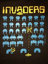 Vintage 70s 80s Space Invaders Atari Shirt Mens M Video Arcade Game Taito Midway