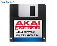 AKAI MPC3000 sistema operativo su floppy disk versione 3,16